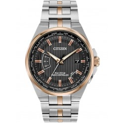Citizen Mens World Perpetual A-T Eco-Drive Watch CB0166-54H