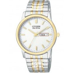 Citizen Mens Two Tone Expandable Watch BM8454-93A