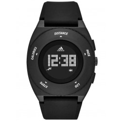 Adidas Unisex Sprung Digital Activity Tracker Strap Watch ADP3198