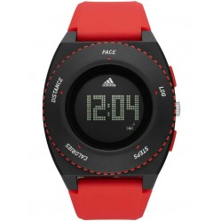 Adidas Mens Sprung Digital Activity Tracker Strap Watch ADP3219