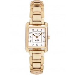 Coach Ladies Gold Plated Bracelet Page Watch 14502023