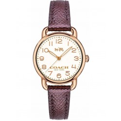 Coach Ladies Delancey Purple Strap Watch 14502251