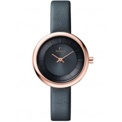 Obaku Ladies Leather Strap Watch V146LXVJRJ