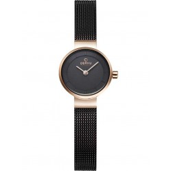 Obaku Ladies Bronze Tone Mesh Bracelet Watch V199LXVNMN