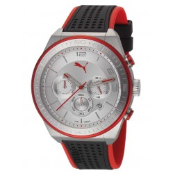 Puma Mens Edge Rubber Strap Watch PU102911003