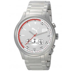 Puma Mens Wheel Chronograph Bracelet Watch PU102741004