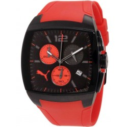 Puma Mens Chronograph Rubber Strap Watch PU102721001