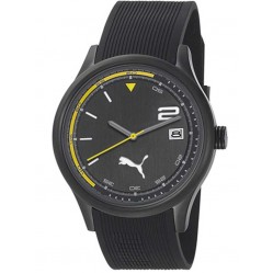 Puma Mens Wheel Black Strap Watch PU102731003