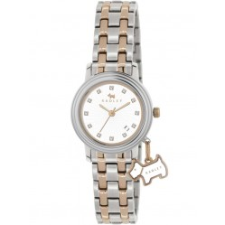Radley Ladies Two Tone Charm Steel Bracelet Watch RY4127