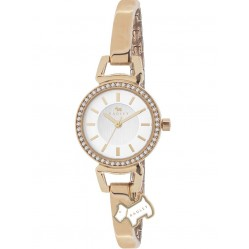 Radley Ladies Stone Set Gold Plated Bangle Watch RY4154