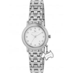 Radley Ladies Stainless Steel Bracelet With Dog Charm Watch RY4177