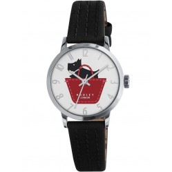 Radley Ladies Border Black Strap Watch RY2345