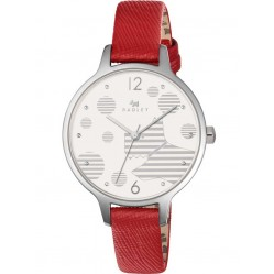 Radley Ladies Ormond Blazer Red Strap Watch RY2395