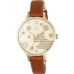 Radley Ladies Ormond Gold Plated Strap Watch RY2398
