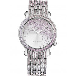 Juicy Couture Ladies LA Luxe Silver Watch 1901347