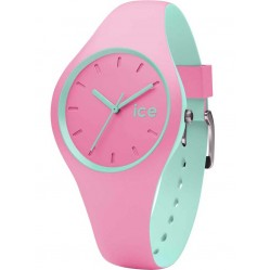 Ice-Watch Ladies Ice Duo Pink Green Strap Watch DUO.PMT.S.S.16