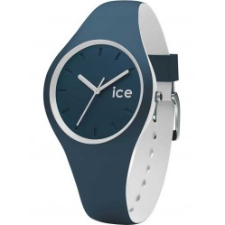 Ice-Watch Mens Ice Duo Blue White Strap Watch DUO.ATL.S.S.16