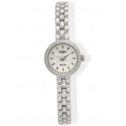 Rotary Ladies Silver Elite Watch LB20206-06