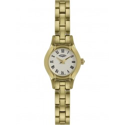 Rotary Ladies Gold Plated Bracelet Watch LB02863-09
