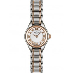 Rotary Ladies Two Tone Bracelet Watch LB02602-41