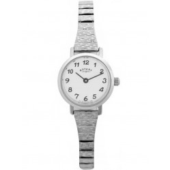 Rotary Ladies White Dial Watch LBI00763-18