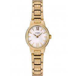Rotary Ladies Gold Plated Watch LB02748/01