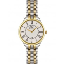 Rotary Ladies Two Tone Watch LB02916/06