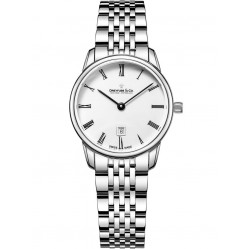 Dreyfuss and Co Ladies Silver 1890 Watch DLB00146/01