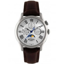 Rotary Mens Strap Watch GS02838-01