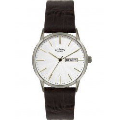 Rotary Mens Brown Strap Watch GS02750-06