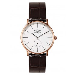 Rotary Mens Brown Leather Watch GS90053/02
