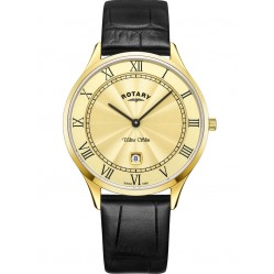 Rotary Mens Champagne Ultra Slim Watch GS08303/03