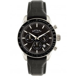 Rotary Mens Exclusive Chronograph Strap Watch GS00470/04
