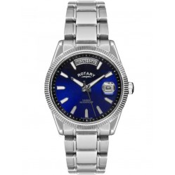 Rotary Mens Round Blue Dial Date Watch GB02660-05