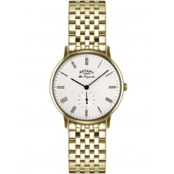 Rotary Mens Gold Plated Watch GB90052/01
