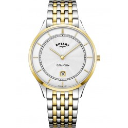 Rotary Mens Two Colour Ultra Slim Watch GB08301/02