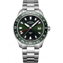 Rotary Mens Green Henley Watch GB05108/24