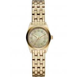 Armani Exchange Ladies Miss Jackson Gold Watch AX5331