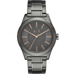 Armani Exchange Mens Gunmetal Bracelet Watch AX2330