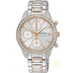 Seiko Ladies Chronograph Watch SNDY18P9