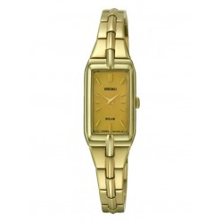 Seiko Ladies' Solar Powered Gold Watch SUP276P9