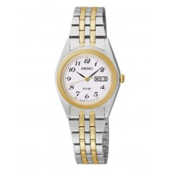 Seiko Ladies' Stainless Steel Solar Powered Watch SUT116P9