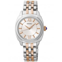 Seiko Ladies Two Tone Bracelet Watch SRZ427P1