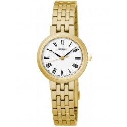 Seiko Ladies Specialist Gold Plated Bracelet Watch SRZ464P1