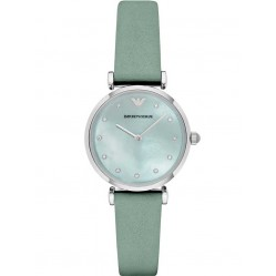 Emporio Armani Ladies T-Bar Strap Watch AR1959