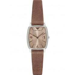 Emporio Armani Ladies Brown Watch AR2497
