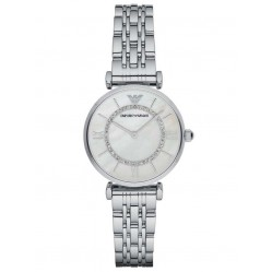 Emporio Armani Ladies Silver Bracelet Watch AR1908