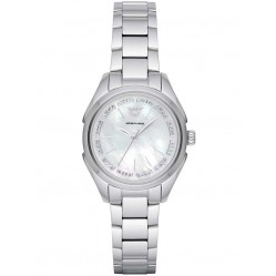 Emporio Armani Mother Of Pearl Bracelet Watch AR11030