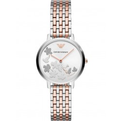 Emporio Armani Ladies Two Colour Bracelet Watch AR11113