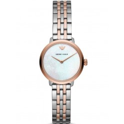 Emporio Armani Two Colour Bracelet Watch AR11157